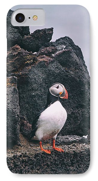 Atlantic Puffin IPhone Case by Happy Home Artistry