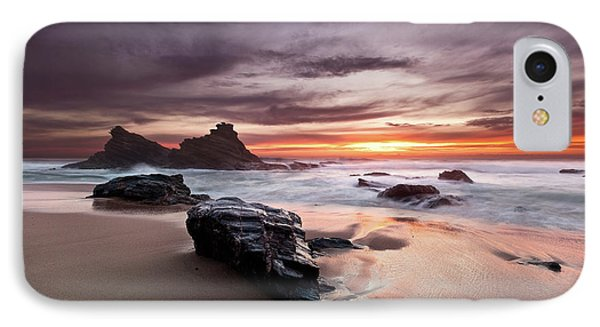 IPhone Case featuring the photograph Atlantic Seashore by Jorge Maia
