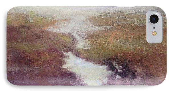 IPhone Case featuring the painting Atlanticsaltmarsh by Helen Harris
