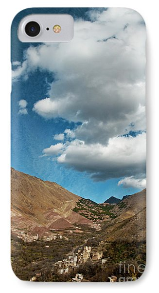 Atlas Mountains 2 IPhone Case by Marion Galt