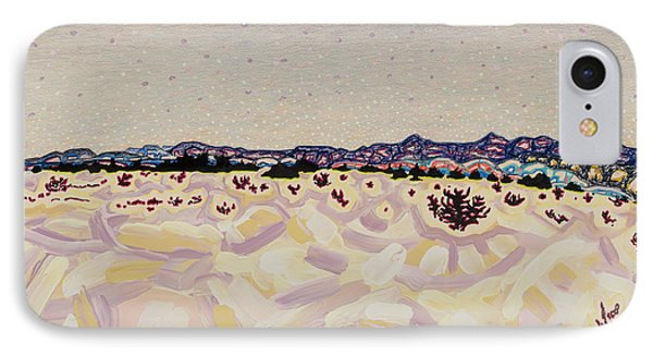 Atomic Meadow IPhone Case by Dale Beckman