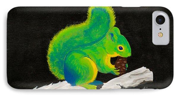 Atomic Squirrel IPhone Case by Stefanie Forck