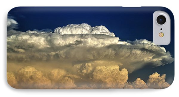 IPhone Case featuring the photograph Atomic Supercell by James Menzies