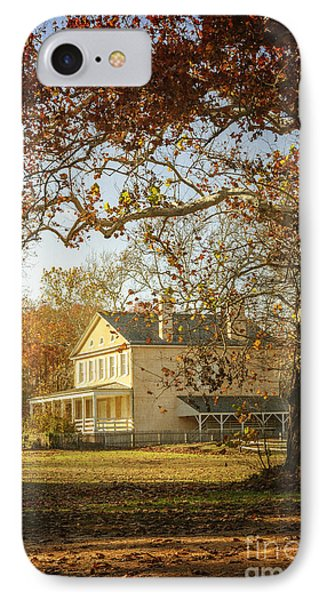 Atsion Mansion IPhone Case by Debra Fedchin