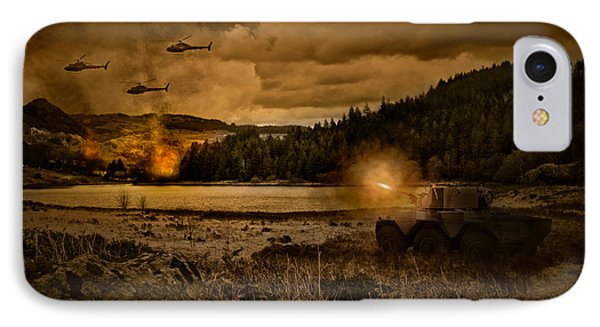 Attack At Nightfall IPhone 7 Case by Amanda Elwell