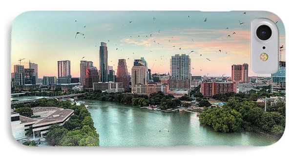 Atx Bats IPhone Case by Andrew Nourse