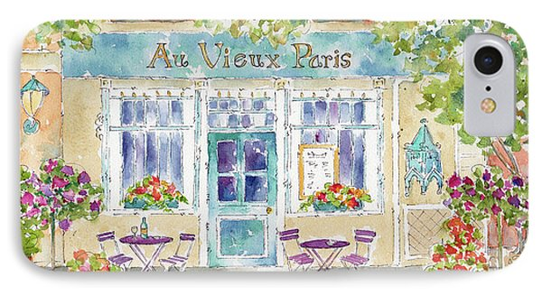 IPhone Case featuring the painting Au Vieux Paris by Pat Katz