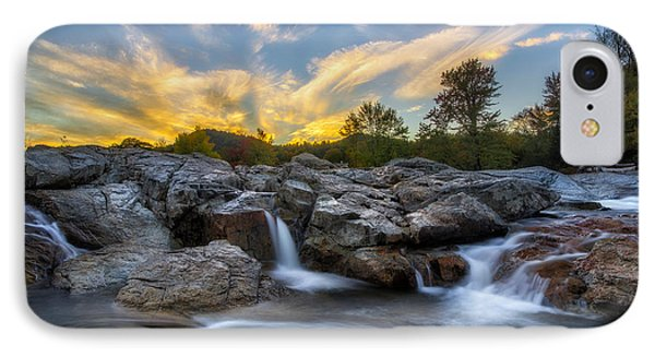 IPhone Case featuring the photograph Auasble River Sunset 2 by Mark Papke