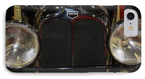 IPhone Case featuring the photograph Auburn 8-88 Boat Tail Speedster by Vadim Levin