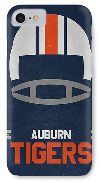 Auburn Tigers Vintage Football Art IPhone Case