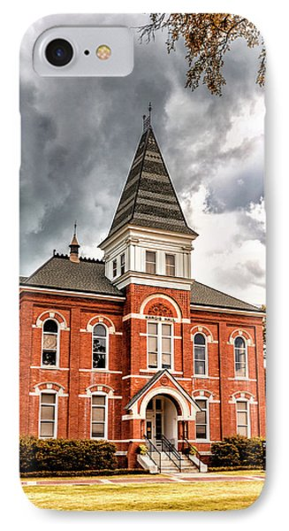 Auburn University - Hargis Hall IPhone Case