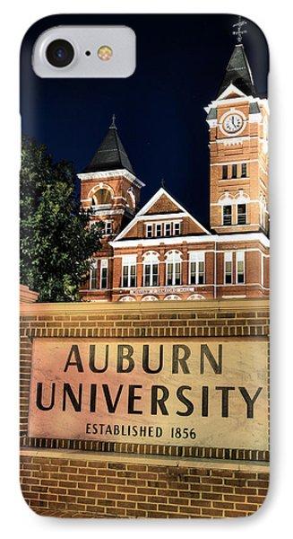 Auburn University IPhone 7 Case by JC Findley