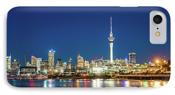 Auckland At Dusk IPhone Case