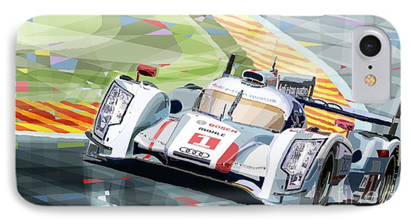 Audi R18 E-tron Quattro IPhone Case by Yuriy  Shevchuk