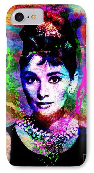 Audrey Hepburn Art IPhone Case
