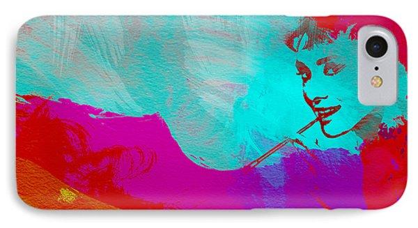 Audrey Hepburn IPhone 7 Case by Naxart Studio
