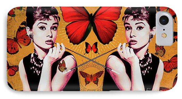 Audrey Hepburn_popart05 IPhone Case