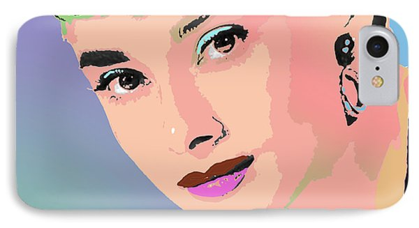 IPhone Case featuring the digital art Audrey by John Keaton