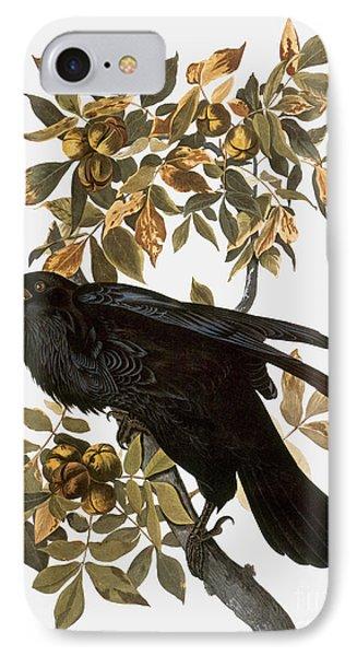 Audubon: Raven Phone Case by Granger