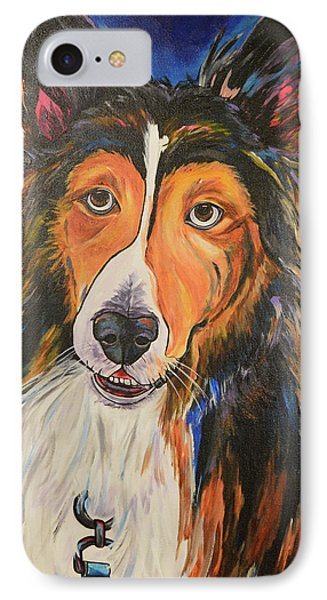 IPhone Case featuring the painting Augie by Patti Schermerhorn