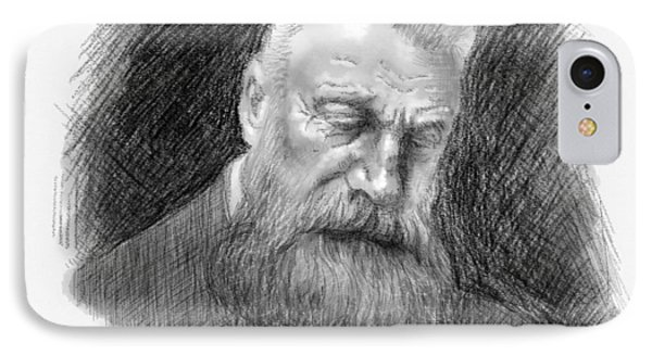 Auguste Rodin IPhone Case by Antonio Romero