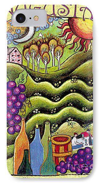 Augusta Winery Poster IPhone Case