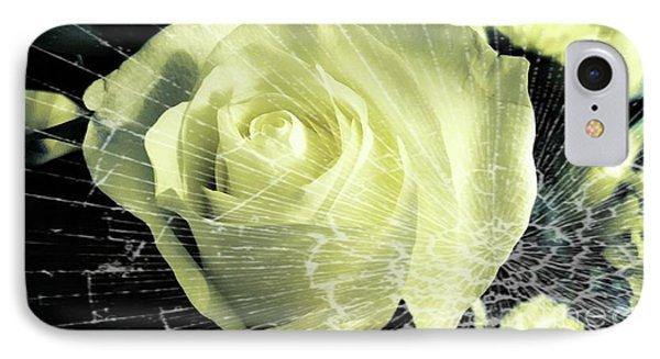 Aunt Edna's Rose IPhone Case