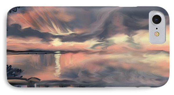 IPhone Case featuring the painting Aunt Jo by Jean Pacheco Ravinski