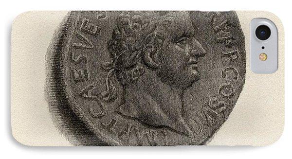 Aureus Coin From The Era Of Titus IPhone Case