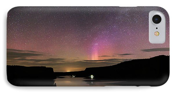 IPhone Case featuring the photograph Aurora At Lake Billy Chinook by Cat Connor