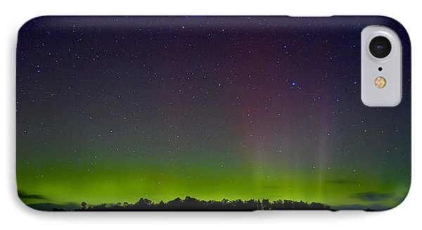 Aurora Australia Trial Bay Tasmania 19 March 2015 IPhone Case by Odille Esmonde-Morgan