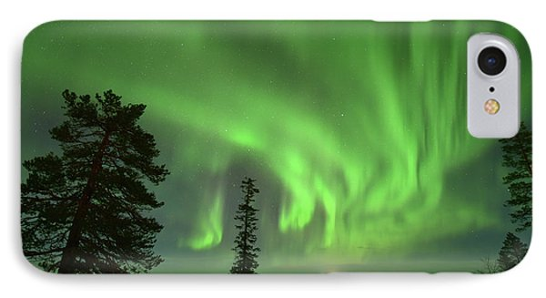 Aurora Borealis IPhone Case by Edwin Verin