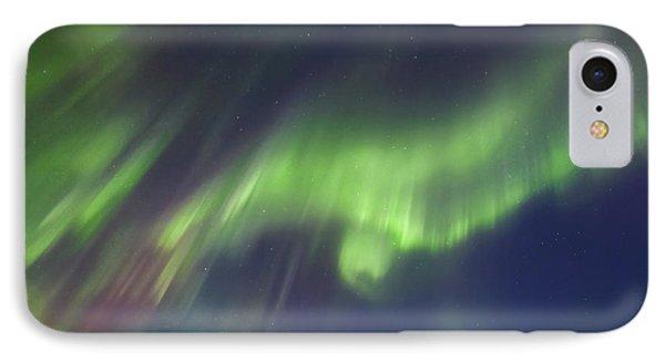 Aurora Borealis Over Blafjellet IPhone Case