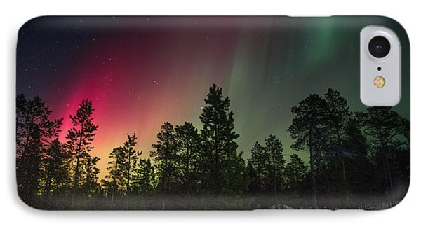 Aurora Borealis IPhone Case by Thomas M Pikolin