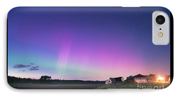 Aurora Energized Pepper Fields IPhone Case by Patrick Fennell