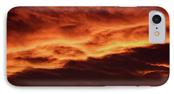 Aurora Firey Sunset IPhone Case by John McArthur
