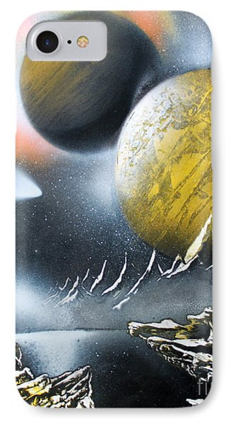 IPhone Case featuring the painting Aurora by Greg Moores