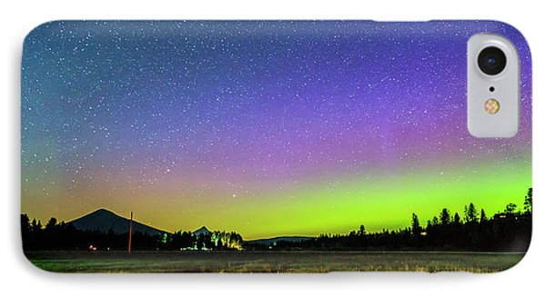 IPhone Case featuring the photograph Aurora In Sisters by Cat Connor