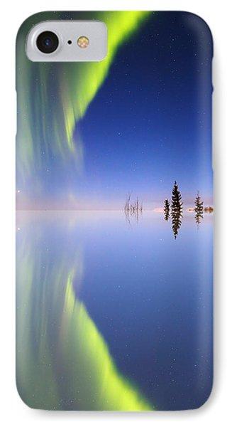Aurora Mirrored Phone Case by Ed Boudreau