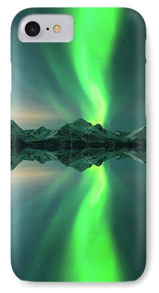 Aurora Powersurge IPhone Case by Tor-Ivar Naess