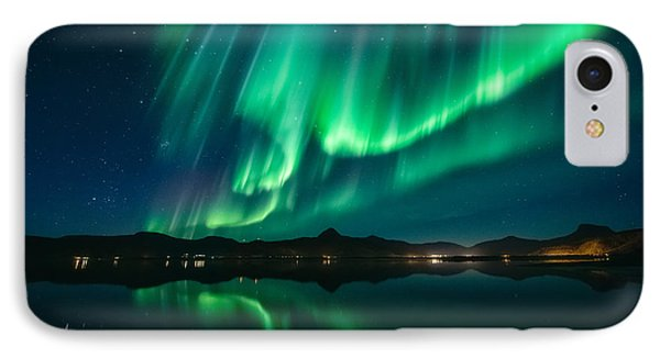 Aurora Surprise IPhone Case by Tor-Ivar Naess