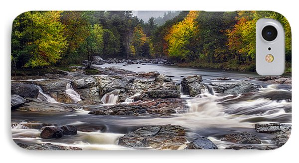 IPhone Case featuring the photograph Ausable Cascades by Mark Papke