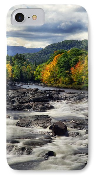 IPhone Case featuring the photograph Ausable River Jay Ny by Mark Papke