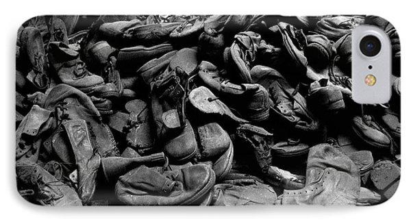 Auschwitz-birkenau Shoes IPhone Case