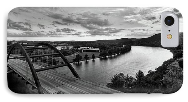 Austin 360 Pennybacker Bridge Sunset IPhone Case