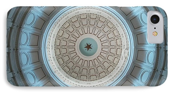Austin Dome In Gray/blue IPhone Case by Karen J Shine