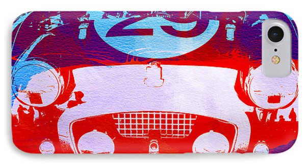 Austin Healey Bugeye IPhone Case by Naxart Studio