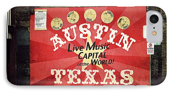 Austin Live Music IPhone Case by Trish Mistric