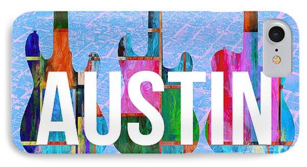 Austin Music Scene IPhone Case