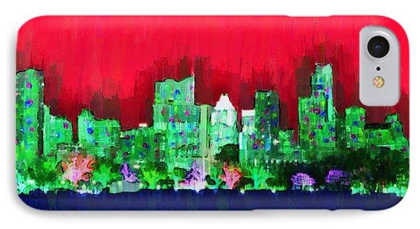 Austin Skyline 156 - Pa IPhone Case